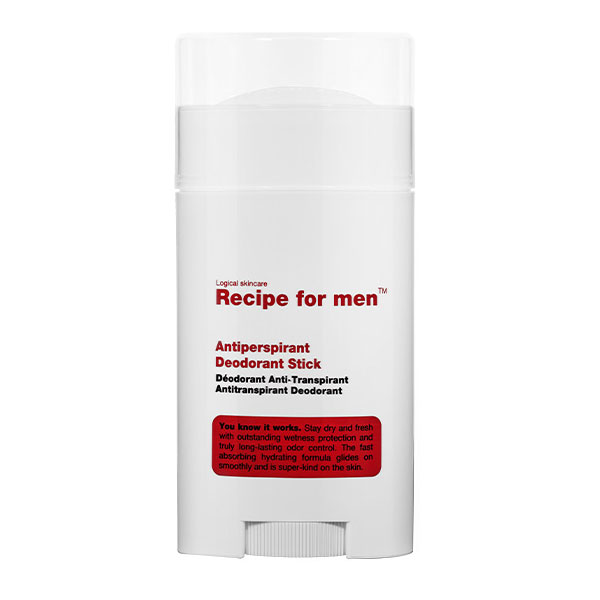 Recipe for men Antiperspirant Deodorant Stick