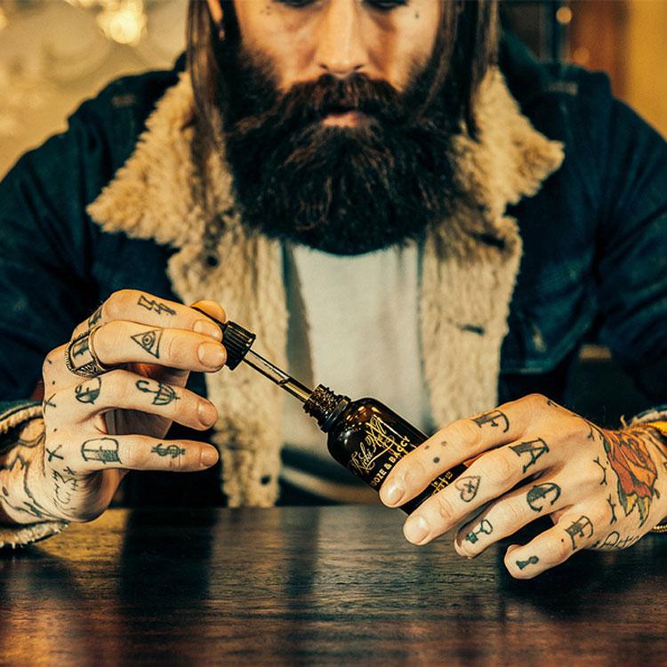 Captain Fawcett Ricki Hall Booze & Baccy Beard Oil 50 ml