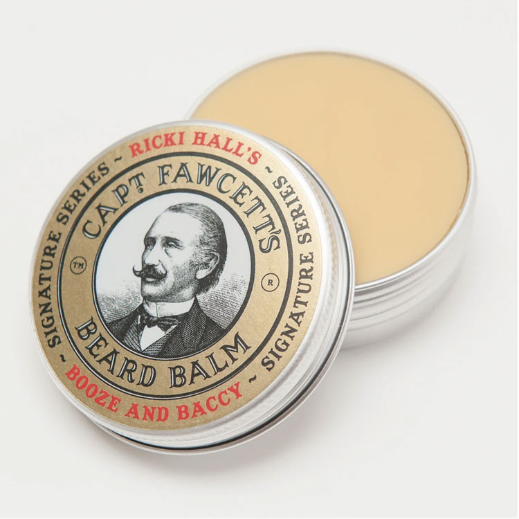 Captain Fawcett Ricki Hall Booze & Baccy Beard Balm