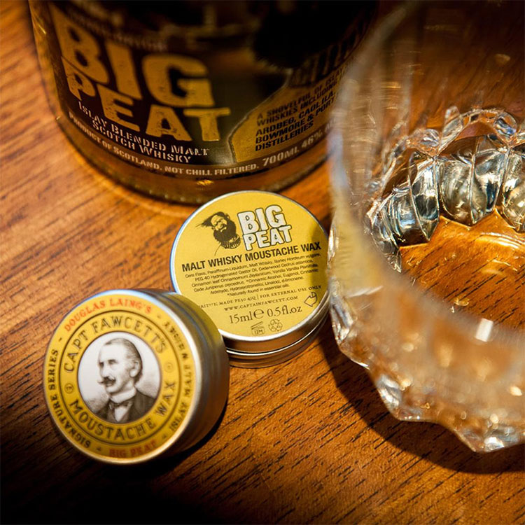 Captain Fawcett Big Peat Moustache Wax