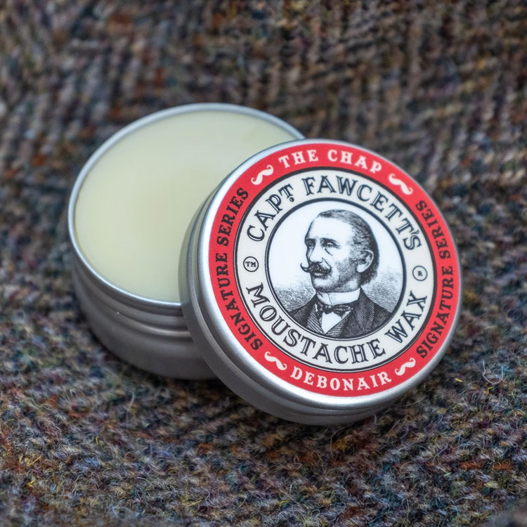 Captain Fawcett The Chap Debonair Moustache Wax