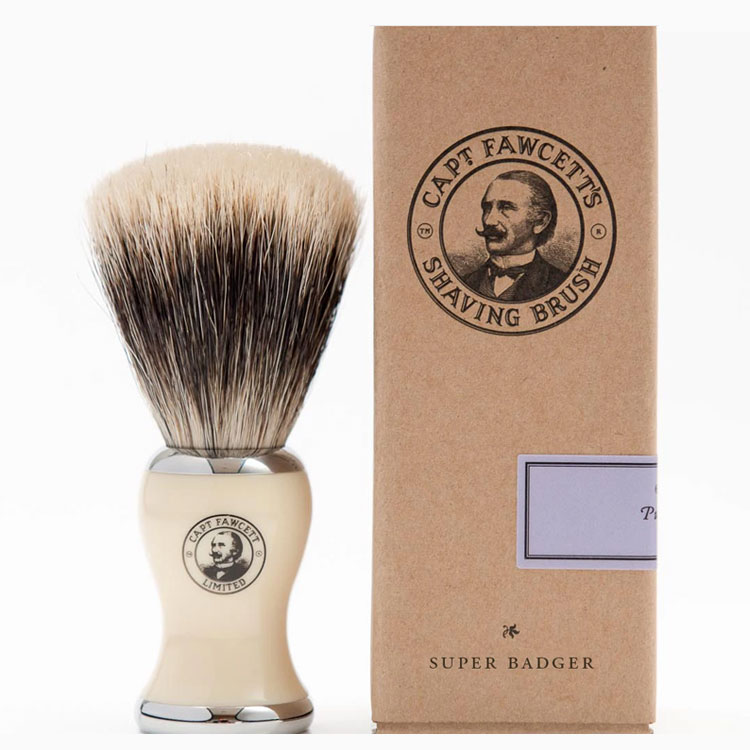 Captain Fawcett Super Badger Shaving Brush