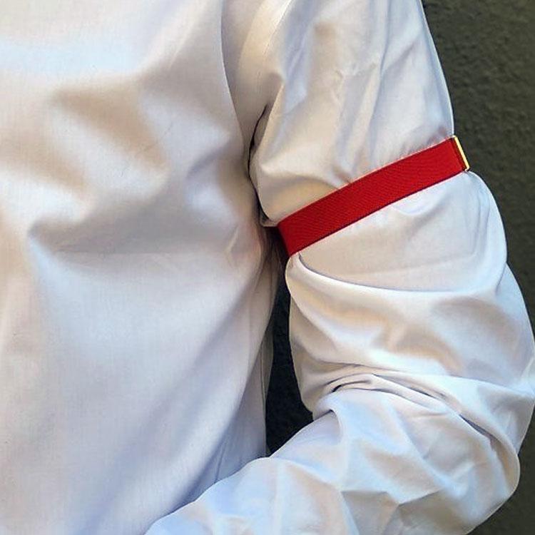Dako Ärmhållare Tyg Röd