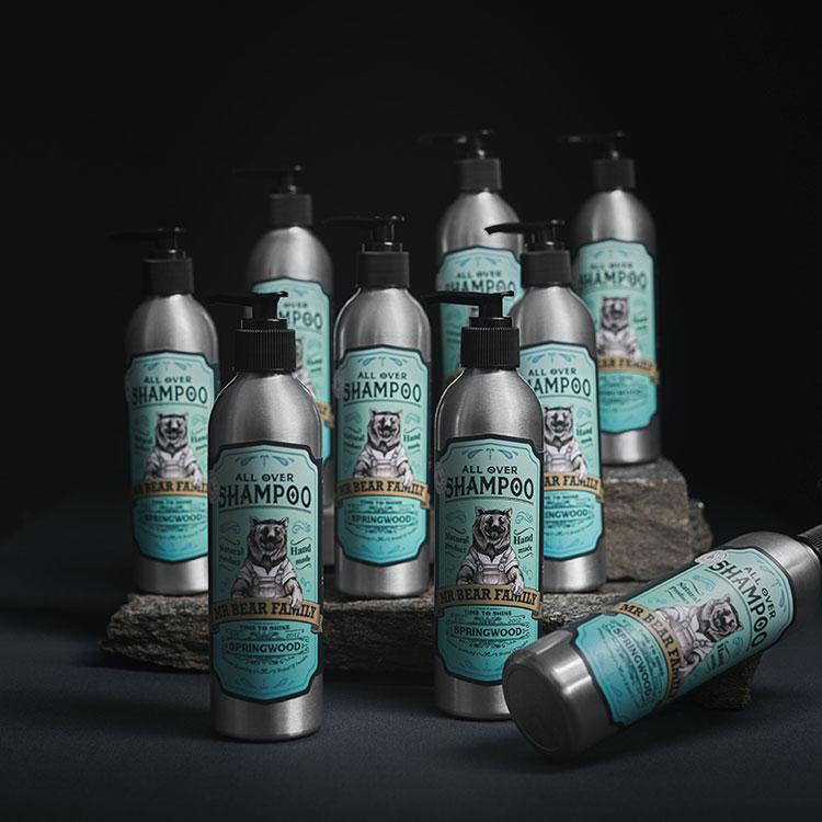 Mr Bear Family All Over Shampoo 250 ml