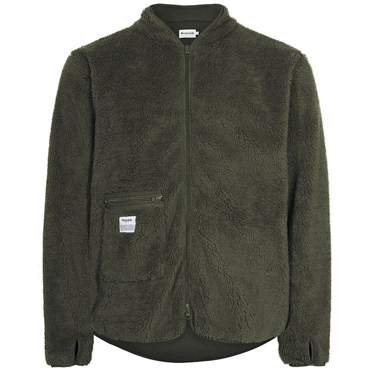 Resteröds Original Fleece Jacket Army Green