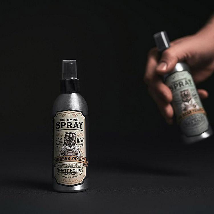 Mr Bear Family Grooming Spray Matt Hold