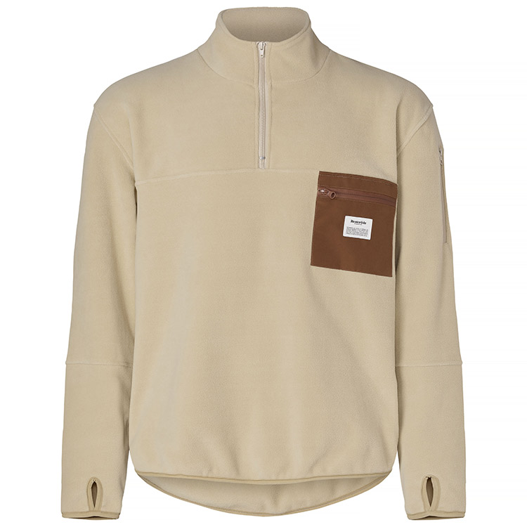 Resteröds Pullover Fleece Light Camel