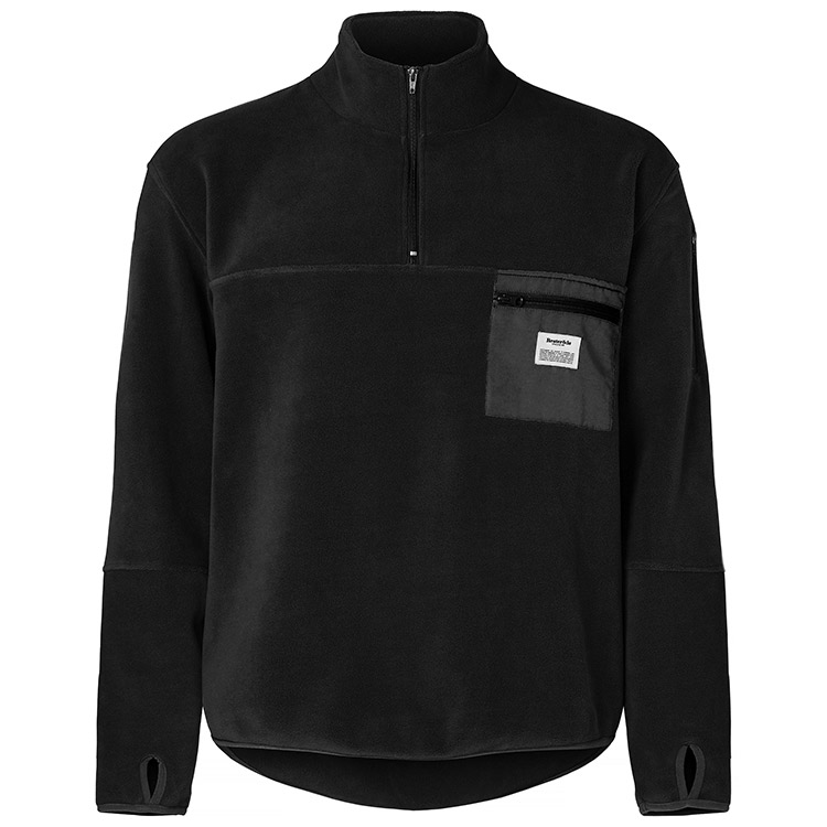 Resteröds Pullover Fleece Black