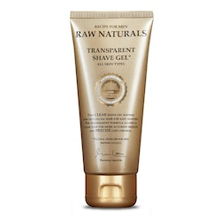 Raw Naturals Transparent Shave Gel