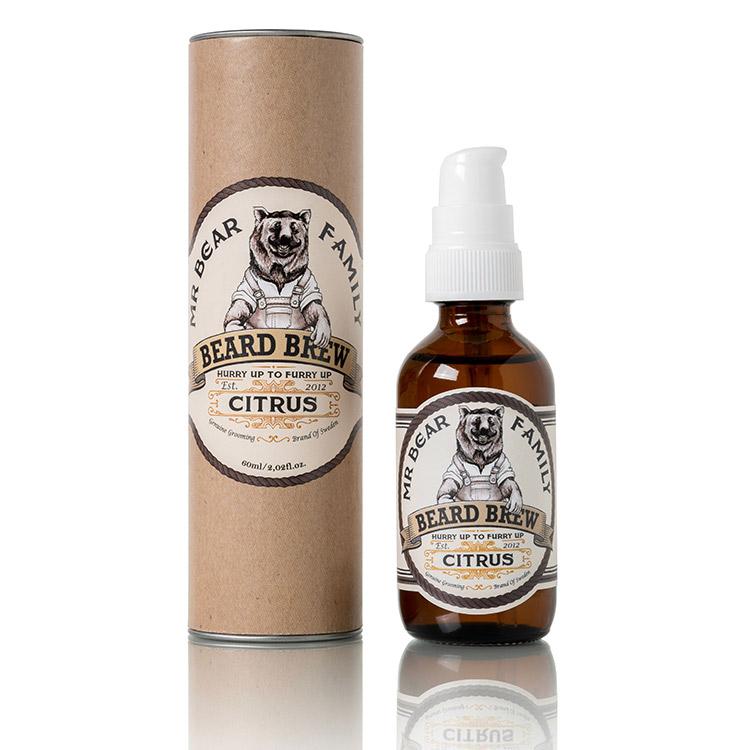 Mr Bear Family Beard Brew Citrus 60 ml