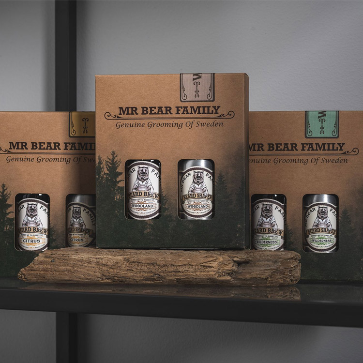 Mr Bear Family Kit - Brew & Shaper Woodland
