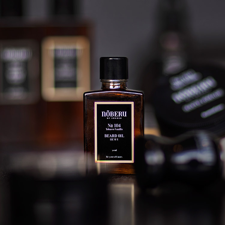 Nõberu of Sweden Beard Oil Heavy Tobacco Vanilla