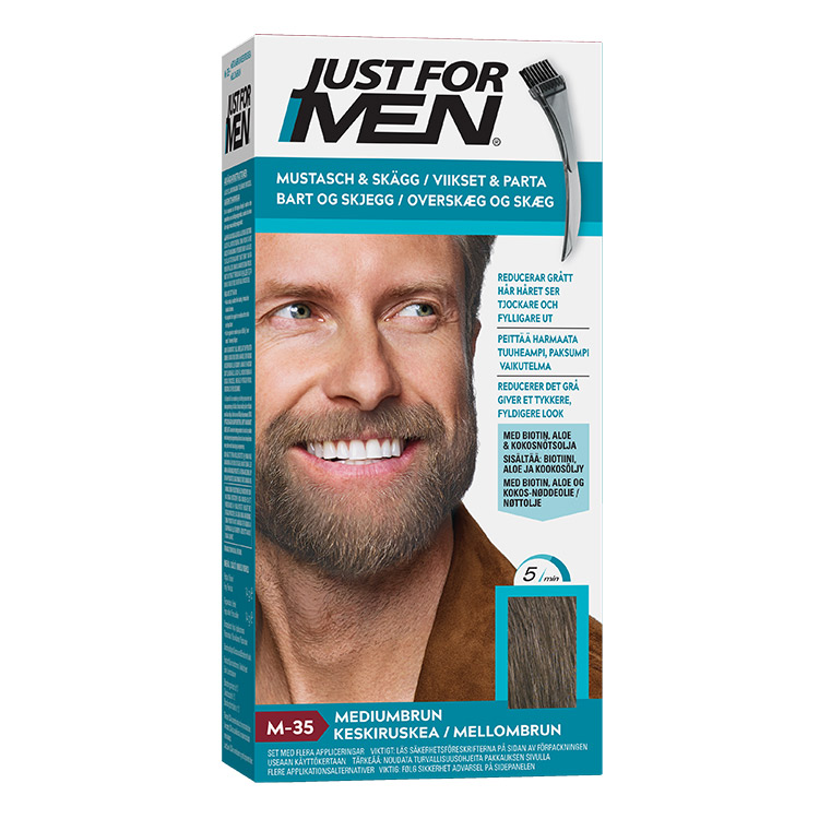 Just For Men Skäggfärg Medium Brown