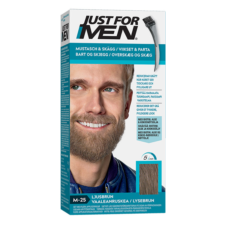 Just For Men Skäggfärg Light Brown