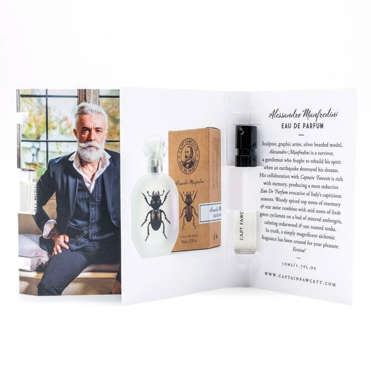Captain Fawcett Alessandro Manfredini EdP 2ml Sample