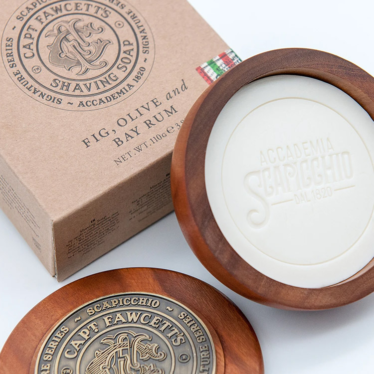 Captain Fawcett Scapicchio Shaving Soap Refill