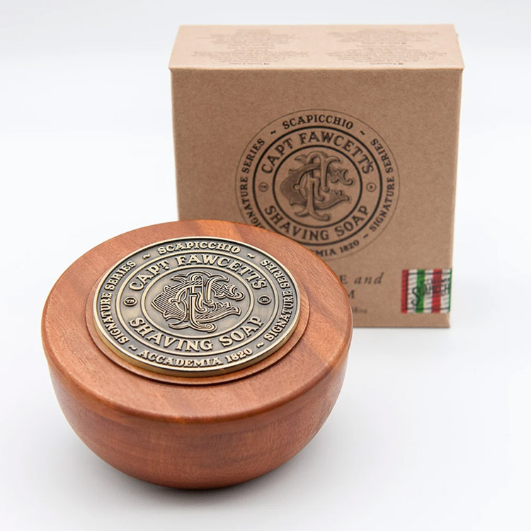 Captain Fawcett Scapicchio Shaving Soap in Bowl