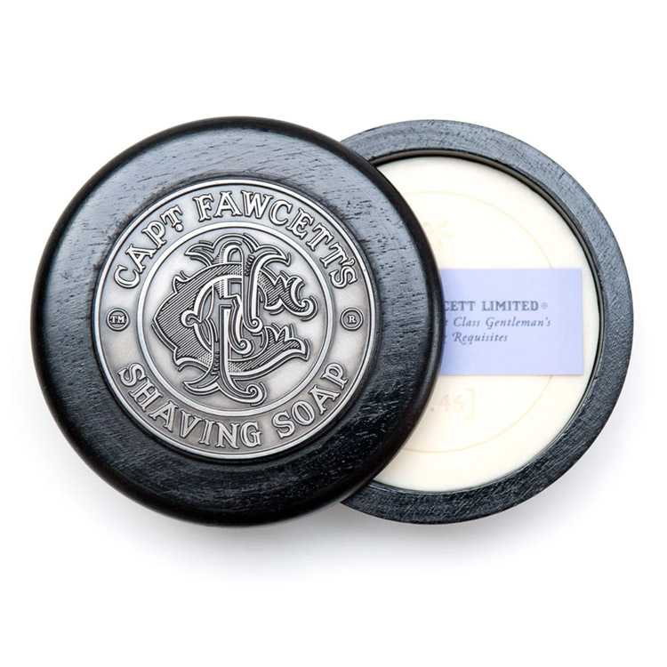 Captain Fawcett Luxurious Shaving Soap in Bowl