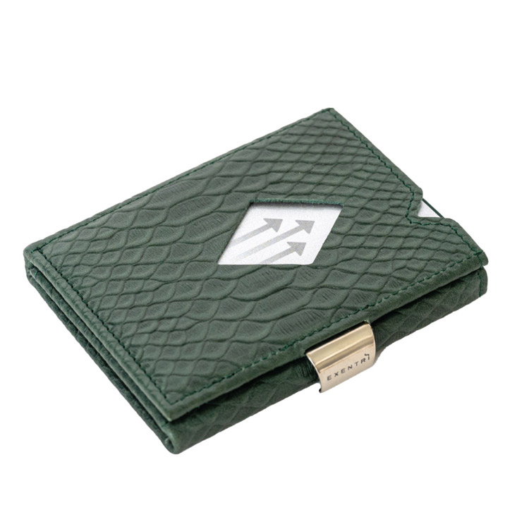 Exentri Wallet Green Cobra