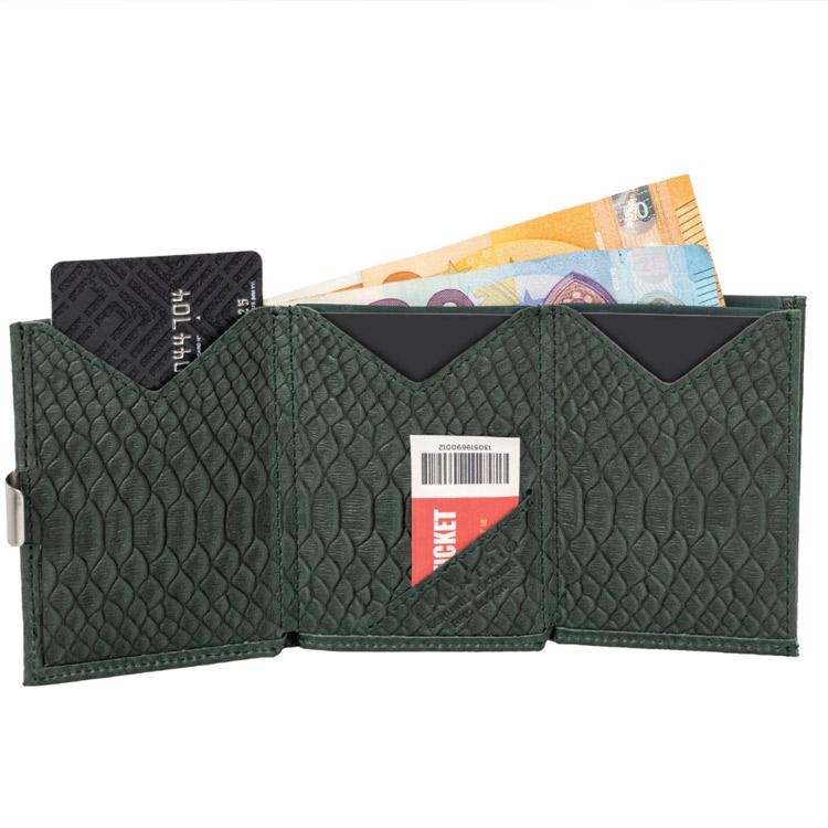 Exentri Wallet Green Cobra