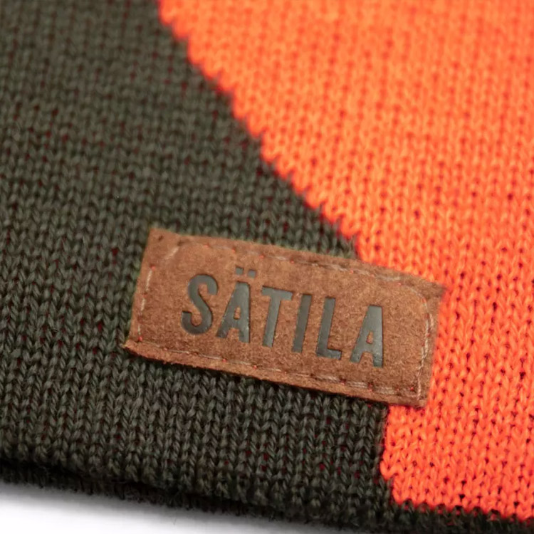 Sätila Alces Mössa Green Orange