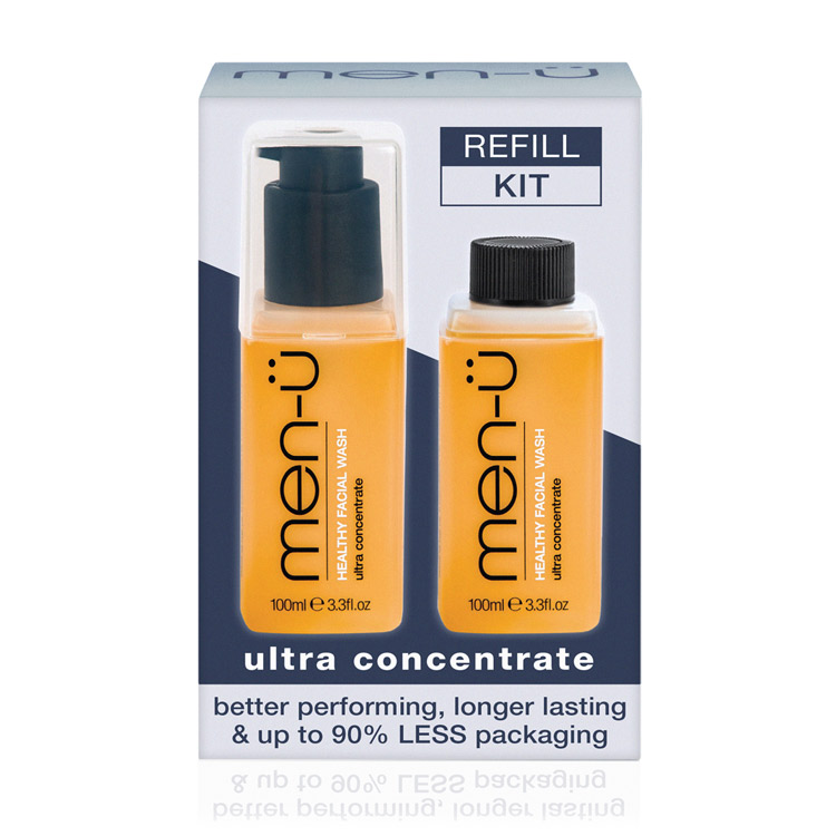 men-ü Refill Kit Healthy Facial Wash