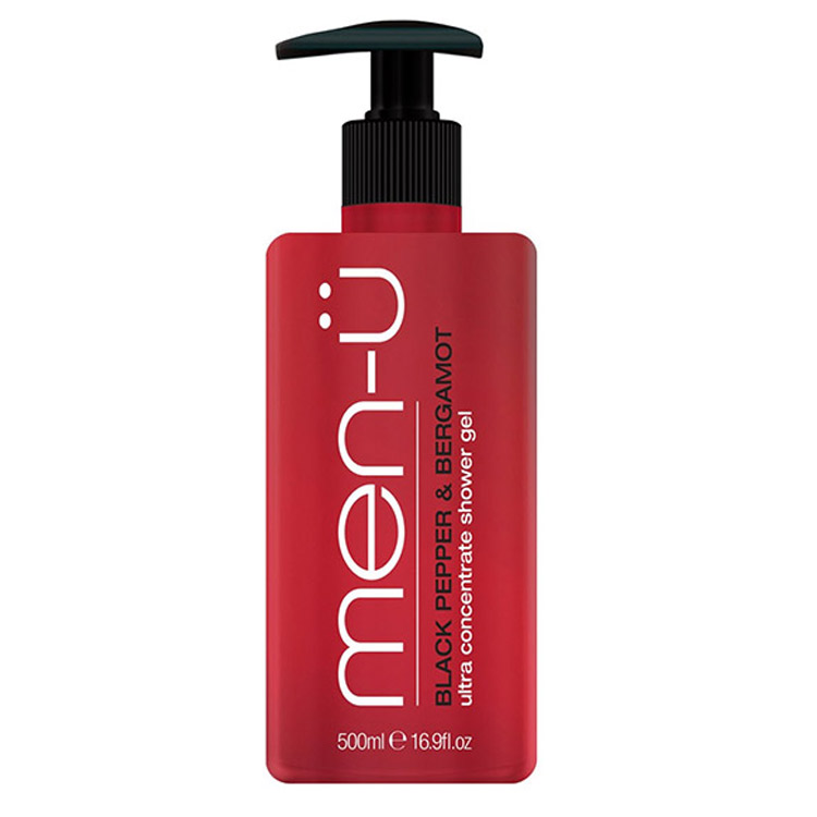 men-ü Black Pepper & Bergamot Shower Gel 500 ml
