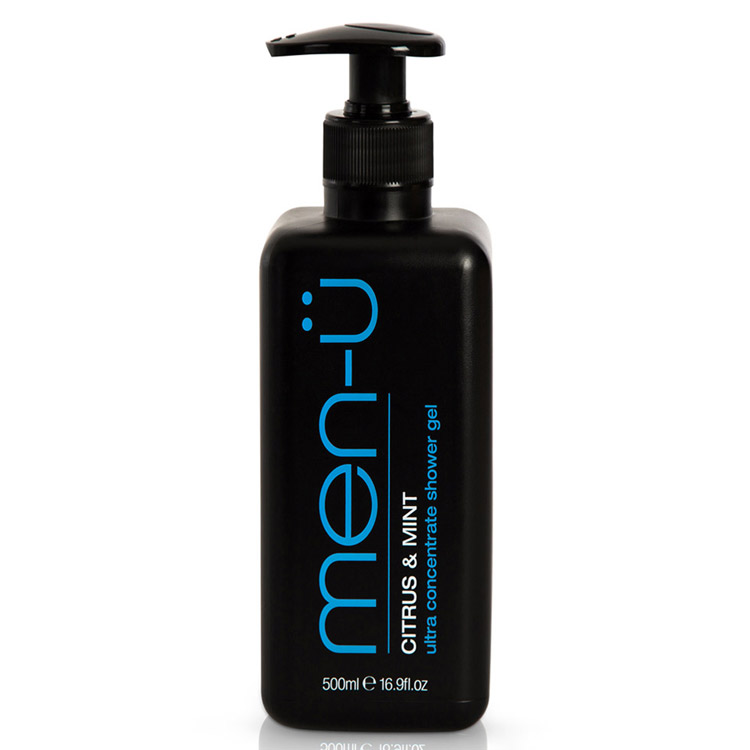 men-ü Citrus & Mint Shower Gel 500 ml
