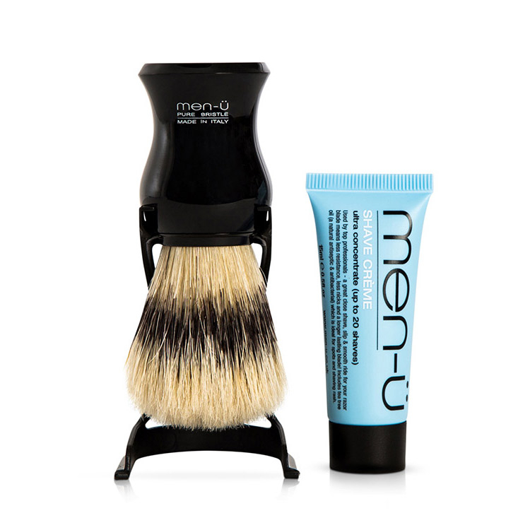 men-ü Barbiere Shaving Brush Black