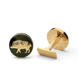 Skultuna The Hunter Gold & Green - The Wild Boar