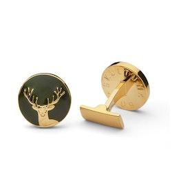 Skultuna The Hunter Gold & Green - The Deer