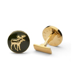 Skultuna The Hunter Gold & Green - The Moose