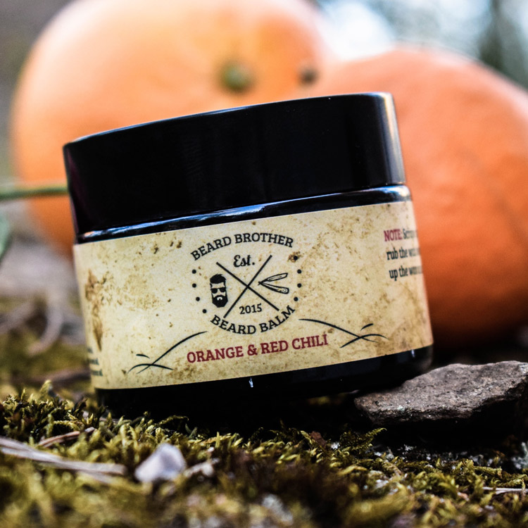 Beard Brother Beard Balm Orange & Red Chili