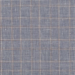 Wigens Ivy Slim Cap Glencheck Steel Blue