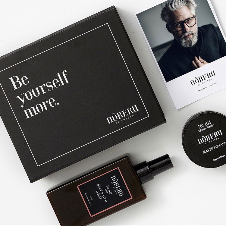 Nõberu of Sweden Giftbox Styling ONE Matte Pomade