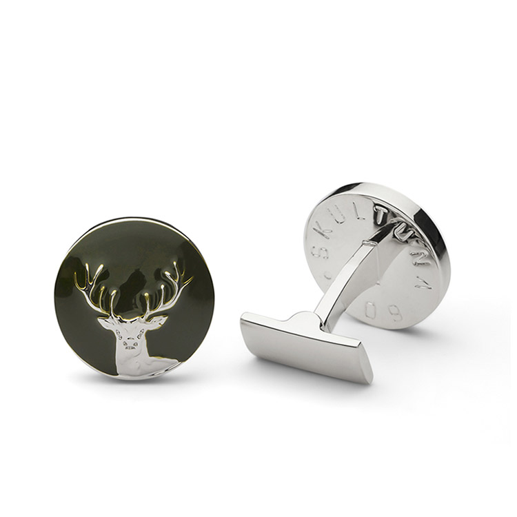 Skultuna The Hunter Silver & Green - The Deer