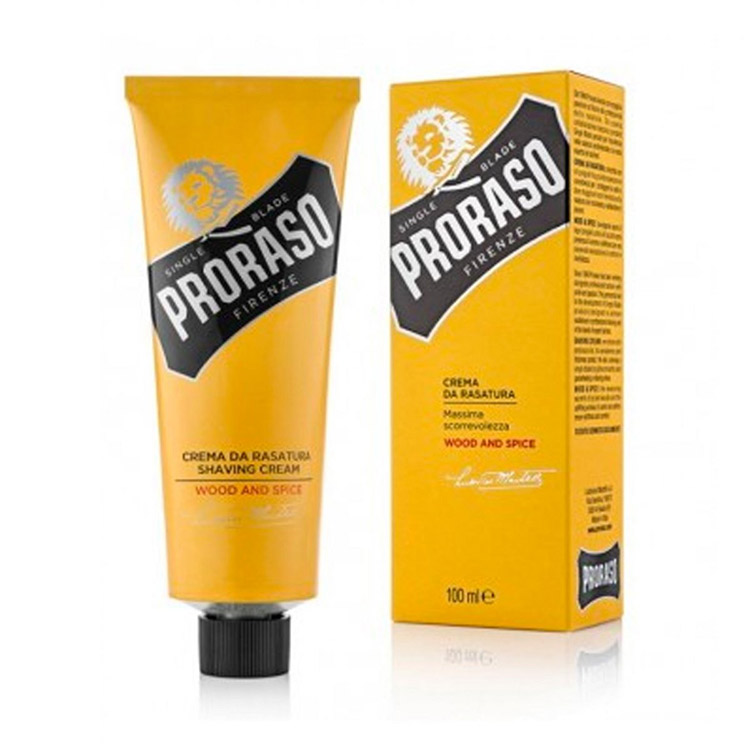 Proraso Shaving Cream Wood & Spice 100 ml