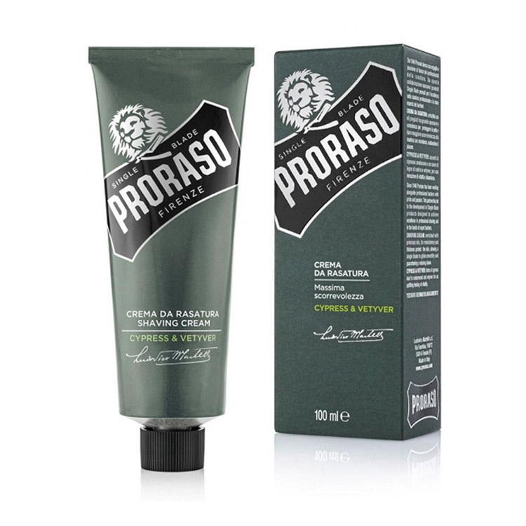Proraso Shaving Cream Cypress & Vetyver 100 ml