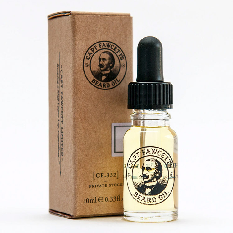 Captain Fawcett Private Stock Beard Oil 10 ml