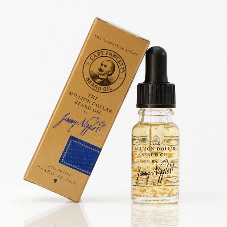 Captain Fawcett Jimmy Niggles Esq. The Million Dollar Beard Oil 10 ml
