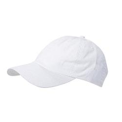 Wigens Baseball Cap Cotton Twill White
