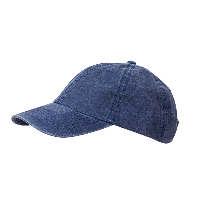 Wigens Baseball Cap Cotton Twill Navy