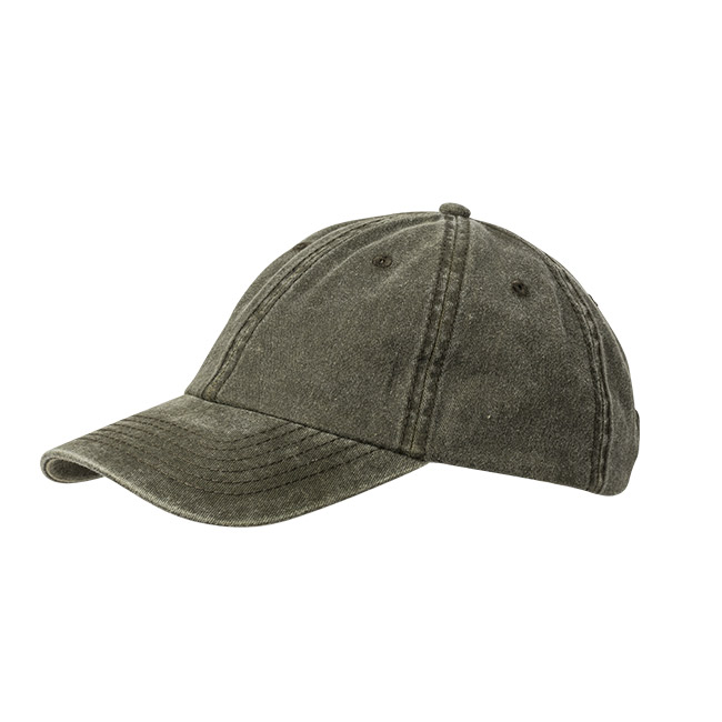 Wigens Baseball Cap Cotton Twill Olive