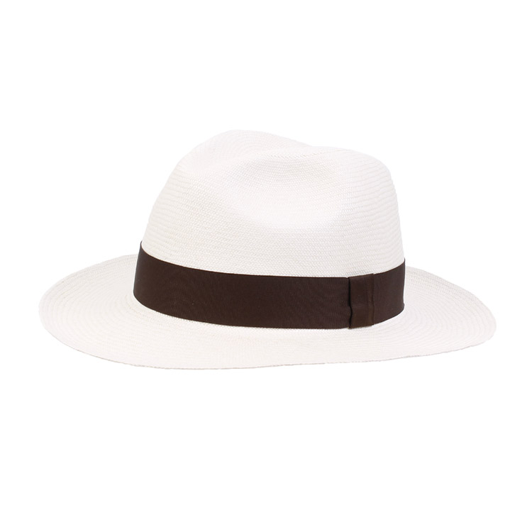 Wigens Country Panama Hat Dark Brown