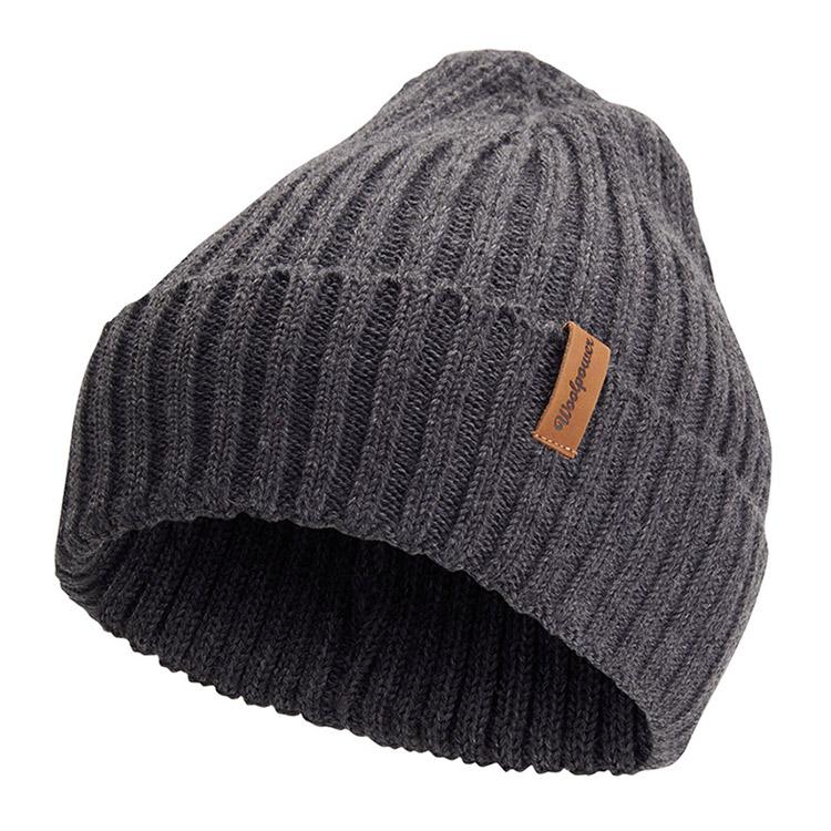 Woolpower Beanie Rib Grey