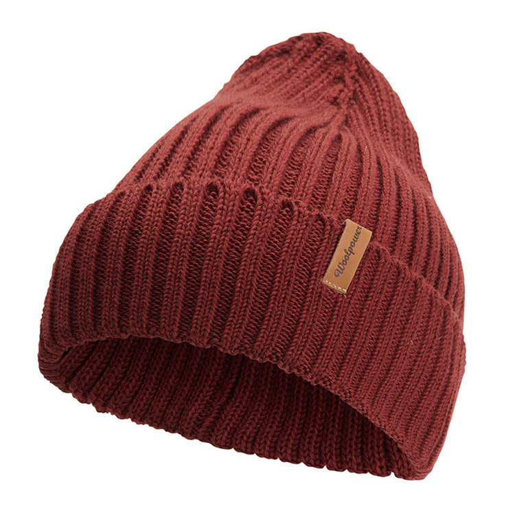 Woolpower Beanie Rib Rust Red
