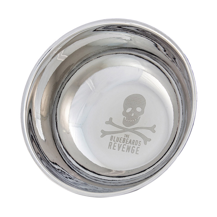 The Bluebeards Revenge Big Stainless Steel Shaving Bowl