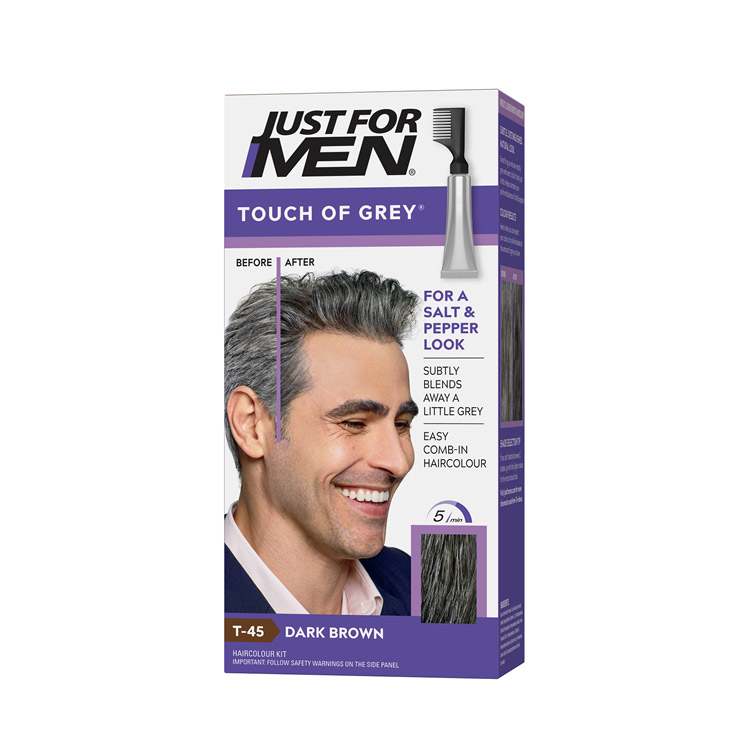 Just For Men Touch Of Grey Dark T45