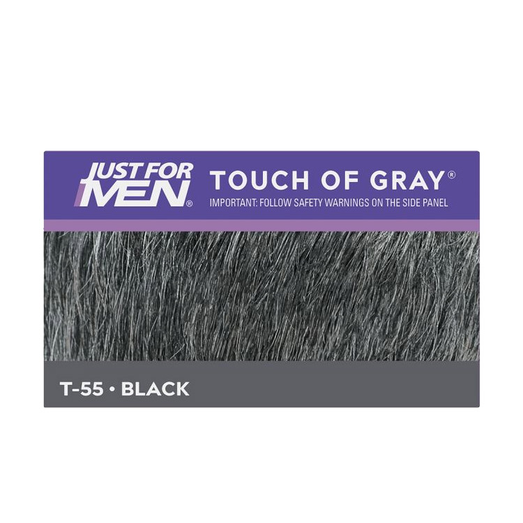 Just For Men Touch Of Grey Black T55