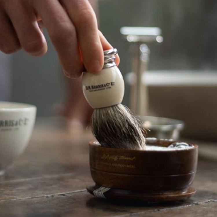 D.R. Harris Windsor Shaving Mahogany Bowl
